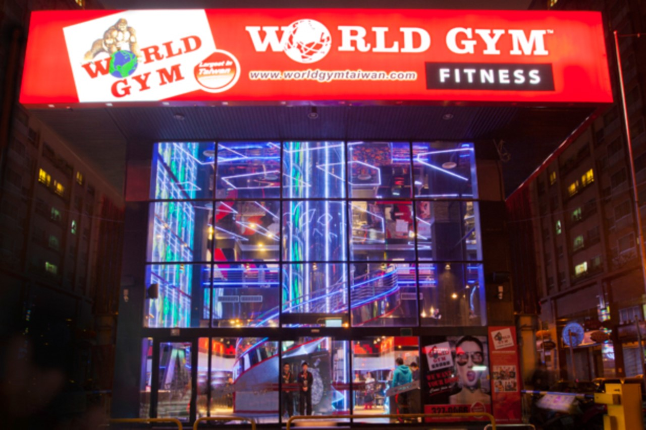 World Gym桃園林口店入口